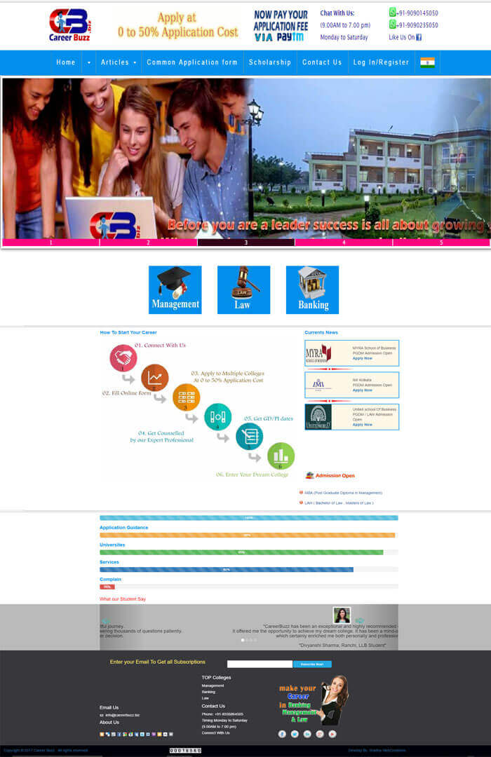 CMS WEBSITE in Odisha