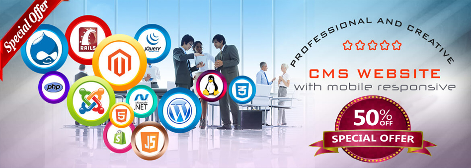 CMS Website designing in Cuttack